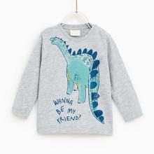 Лонгслив для мальчика Динозавр оптом (код товара: 46484)