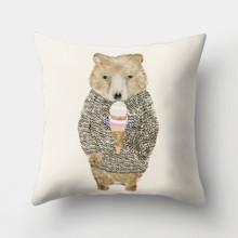 Подушка декоративна Люблю морозиво 45 х 45 см оптом (код товара: 46403)
