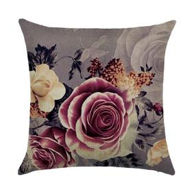 Подушка декоративная Букет из роз 45 х 45 см (код товара: 46430): купить в Berni