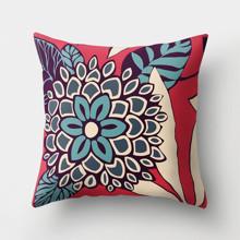 Подушка декоративная Голубой цветок 45 х 45 см оптом (код товара: 46400)