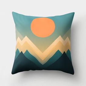 Подушка декоративная Горный рассвет 45 х 45 см (код товара: 46427): купить в Berni