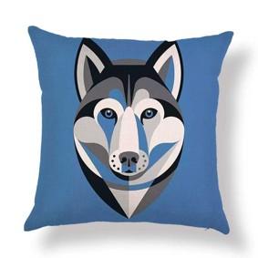 Подушка декоративная Хаски 45 х 45 см (код товара: 46407): купить в Berni