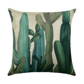 Подушка декоративная Кактусы 45 х 45 см (код товара: 46413): купить в Berni