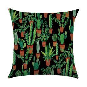 Подушка декоративная Кактусы 45 х 45 см (код товара: 46436): купить в Berni