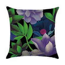 Подушка декоративная Нежный цветок 45 х 45 см (код товара: 46434)