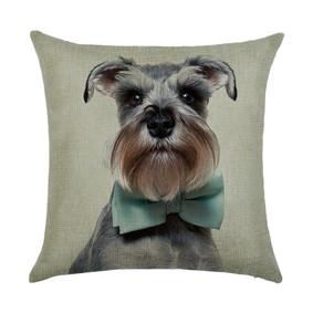 Подушка декоративная Пес в галстуке - бабочке 45 х 45 см (код товара: 46418): купить в Berni