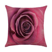 Подушка декоративная Роза 45 х 45 см оптом (код товара: 46431)
