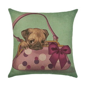 Подушка декоративная Щенок в сумке 45 х 45 см (код товара: 46420): купить в Berni