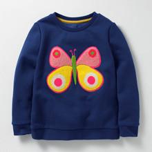 Свитшот для девочки Бабочка оптом (код товара: 46481)