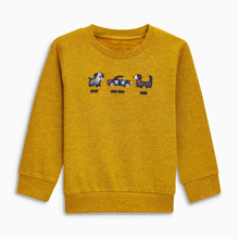 Свитшот для мальчика Псы и машины оптом (код товара: 46458)