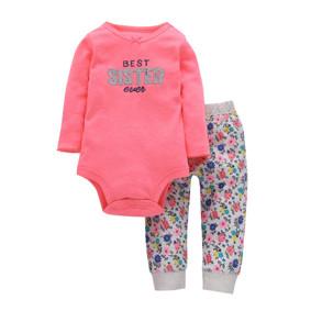 Комплект для девочки 2 в 1 Цветы (код товара: 46593): купить в Berni