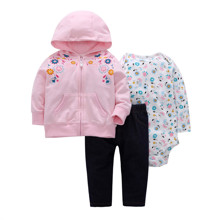 Комплект для девочки 3 в 1 Цветочное чудо (код товара: 46574)
