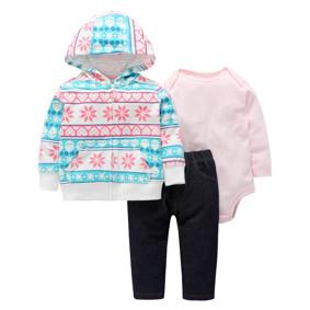 Комплект для девочки 3 в 1 Снежинка (код товара: 46579): купить в Berni