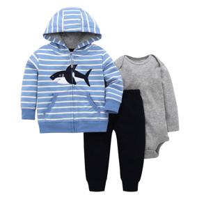 Комплект для мальчика 3 в 1 Акула (код товара: 46577): купить в Berni