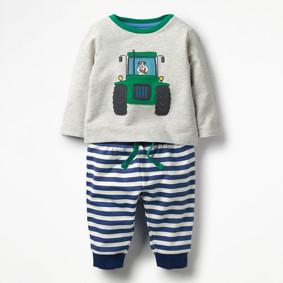 Костюм 2 в 1 для мальчика Трактор оптом (код товара: 46504): купить в Berni