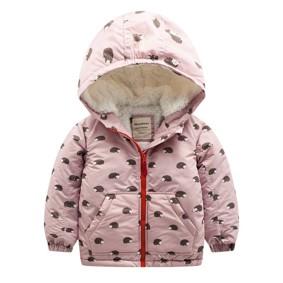 Куртка для девочки Ежики (код товара: 46559): купить в Berni
