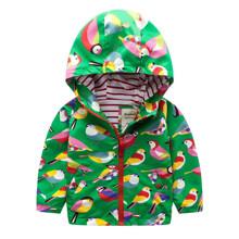 Куртка для дівчинки демісезонна Пташки (код товара: 46562)