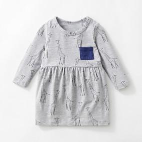 Платье для девочки Жираф (код товара: 46509): купить в Berni