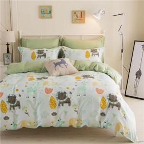 Уценка (дефекты)! Комплект постельного белья Сафари (полуторный) (код товара: 46522): купить в Berni