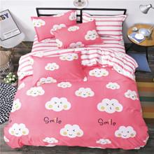 Уценка (дефекты)! Комплект постельного белья Улыбка облака (двуспальный-евро) (код товара: 46531)