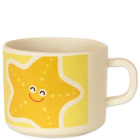 Чашка из бамбукового волокна Морская звезда (код товара: 46618): купить в Berni