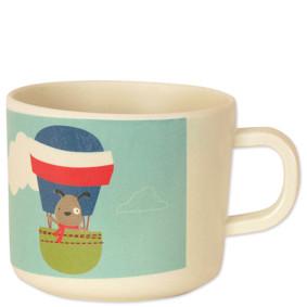 Чашка из бамбукового волокна Пес - летчик (код товара: 46620): купить в Berni