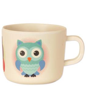 Чашка из бамбукового волокна Совиная семья (код товара: 46622): купить в Berni