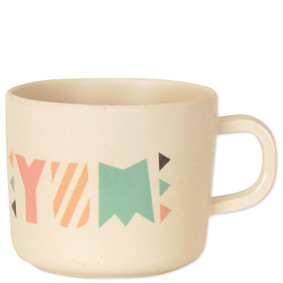 Чашка из бамбукового волокна Время обеда! (код товара: 46616): купить в Berni