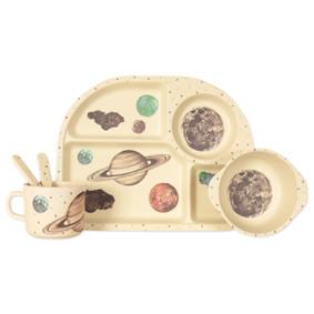 Набор посуды из бамбукового волокна Космос (код товара: 46614): купить в Berni