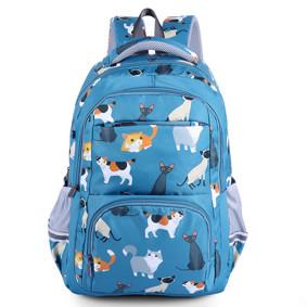 Рюкзак Кошки, синий (код товара: 46689): купить в Berni