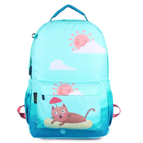 Рюкзак Кот на пляже (код товара: 46683): купить в Berni