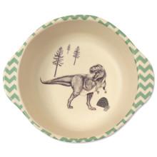 Тарелка из бамбукового волокна Динозавры (код товара: 46638)