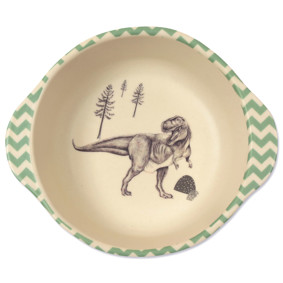 Тарелка из бамбукового волокна Динозавры (код товара: 46638): купить в Berni