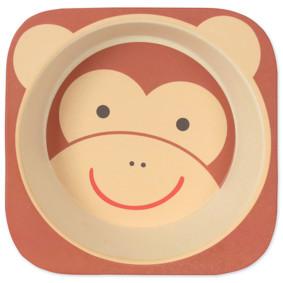 Тарелка из бамбукового волокна Мартышка (код товара: 46652): купить в Berni