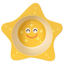 Тарелка из бамбукового волокна Морская звезда (код товара: 46648)