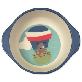 Тарелка из бамбукового волокна Пес - летчик (код товара: 46637): купить в Berni