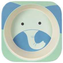 Тарелка из бамбукового волокна Слон (код товара: 46651)