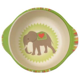 Тарелка из бамбукового волокна Слон на воздушном шаре (код товара: 46639): купить в Berni