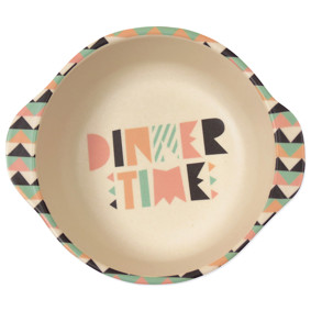 Тарелка из бамбукового волокна Время обеда! (код товара: 46635): купить в Berni