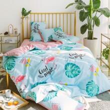 Комплект постельного белья Спокойной ночи (двуспальный-евро) (код товара: 46787)