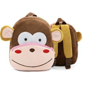 Рюкзак велюровий Мавпочка (код товару: 46736): купити в Berni