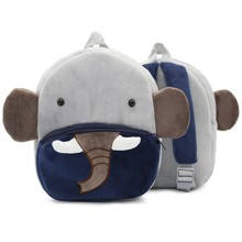 Рюкзак велюровий Слон оптом (код товара: 46737)