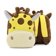 Рюкзак велюровий Жирафа оптом (код товара: 46730)