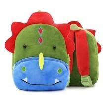Рюкзак велюровый Динозавр оптом (код товара: 46733)