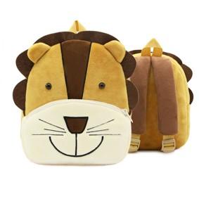 Рюкзак велюровый Лев оптом (код товара: 46738): купить в Berni