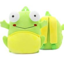 Рюкзак велюровый Лягушка оптом (код товара: 46746)