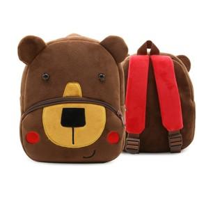 Рюкзак велюровый Мишка оптом (код товара: 46748): купить в Berni