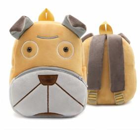 Рюкзак велюровый Пес оптом (код товара: 46745): купить в Berni