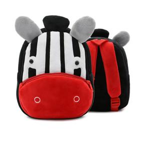 Рюкзак велюровый Зебра (код товара: 46732): купить в Berni