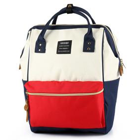 Сумка - рюкзак для мамы Красно - белый (код товара: 46718): купить в Berni